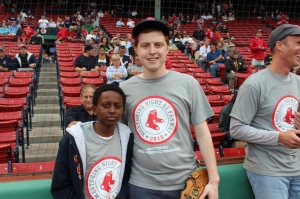 First pitch - Brian and Clyde