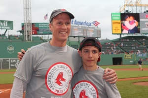First pitch - Robert and George