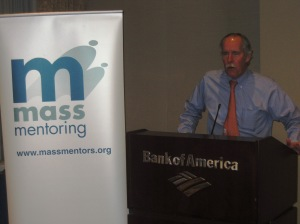 President of Bank of America Massachusetts Robert Gallery at the 2012 Partner Member Summit